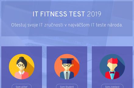 Vyskúšajte si IT Fitness test